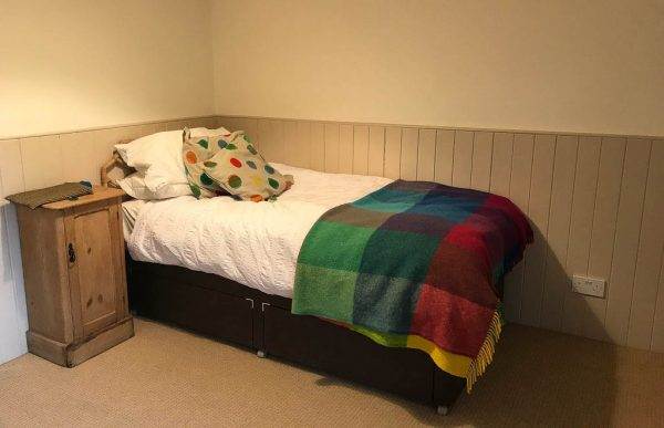 The Bothy Single bedroom