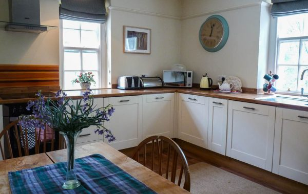 Gatehouse Holiday Cottage Kitchen