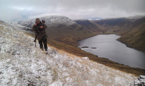 Deer stalking in Perthshire Scotland